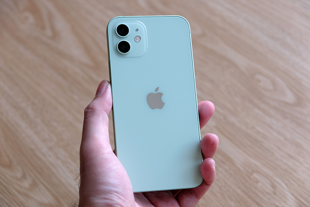Here's the iPhone 12 in green.