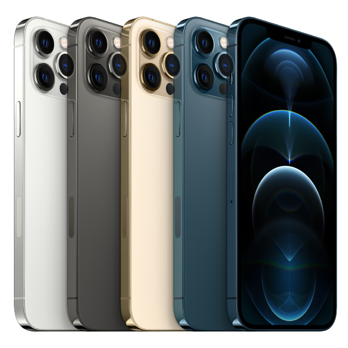 The colours of iPhone 12 Pro. (Image source: Apple)