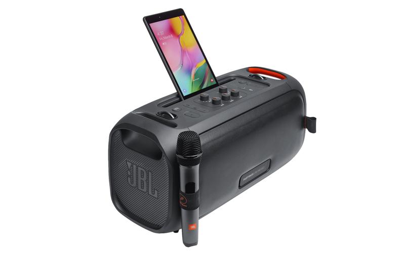 The go-anywhere karaoke machine. Image courtesy of JBL.