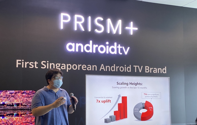 Prism+ is the first local TV manufacturer to be a Google partner.