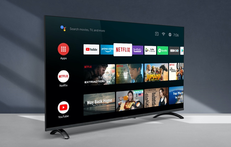 The new Q series is Singapore's first Android OS based locally produced smart TV.