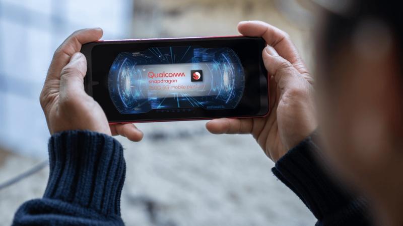 The Qualcomm Snapdragon 750G mobile platform.