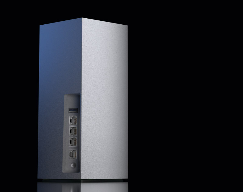 The Velop AX4200 has one less LAN port than the Velop MX5300.