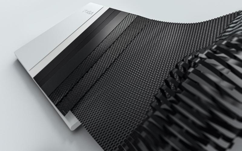 The notebook uses Lenovo's 2nd Gen carbon fibre. Image courtesy of Lenovo
