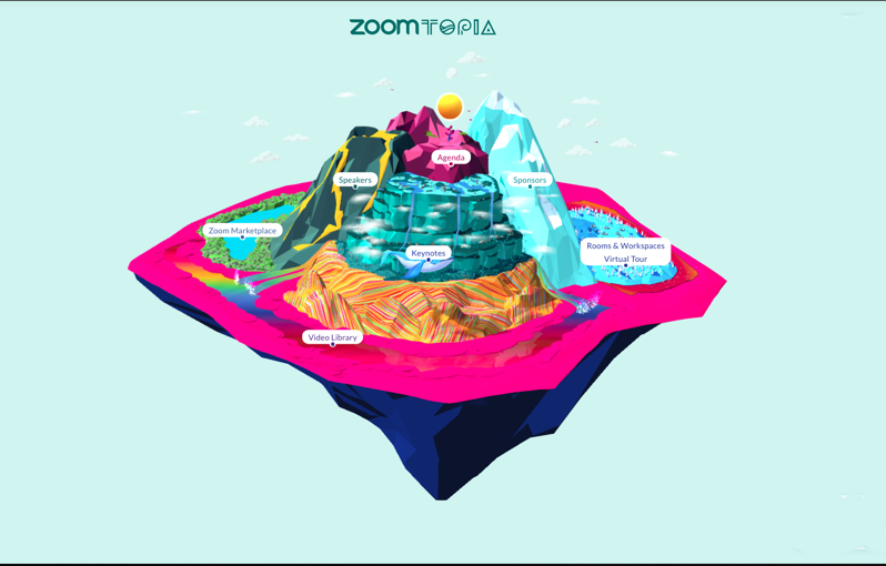 Zoomtopia is Zoom's Global User Conference.