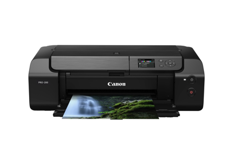 The Canon Pixma Pro-200 can also print up to A3 sized paper. Image courtesy of Canon.
