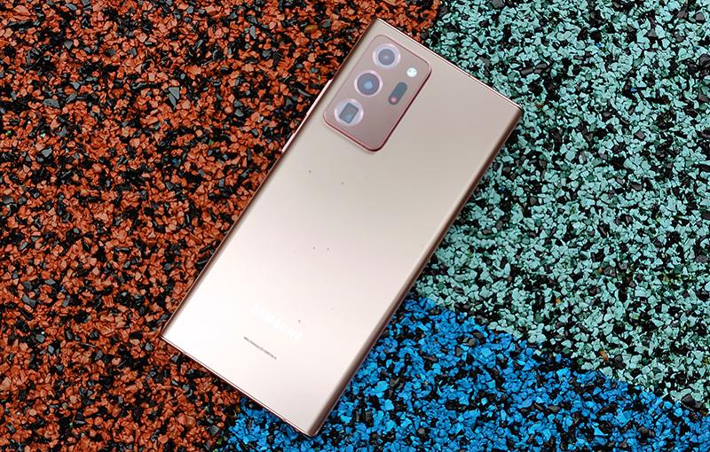 The Samsung Galaxy Note20 Ultra 5G.
