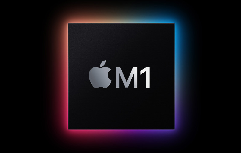 The M1 processor has brought a number of improvements to the Mac. Image courtesy of Apple.