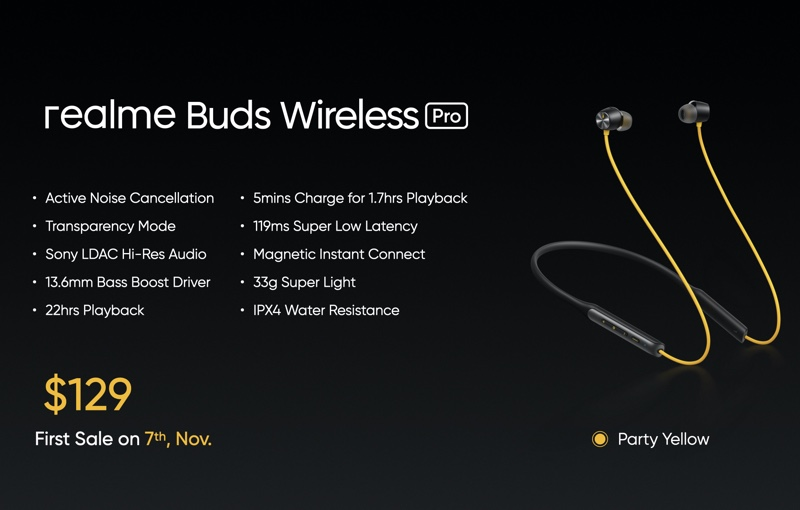 The buds will go on sale this weekend. Image courtesy of Realme.