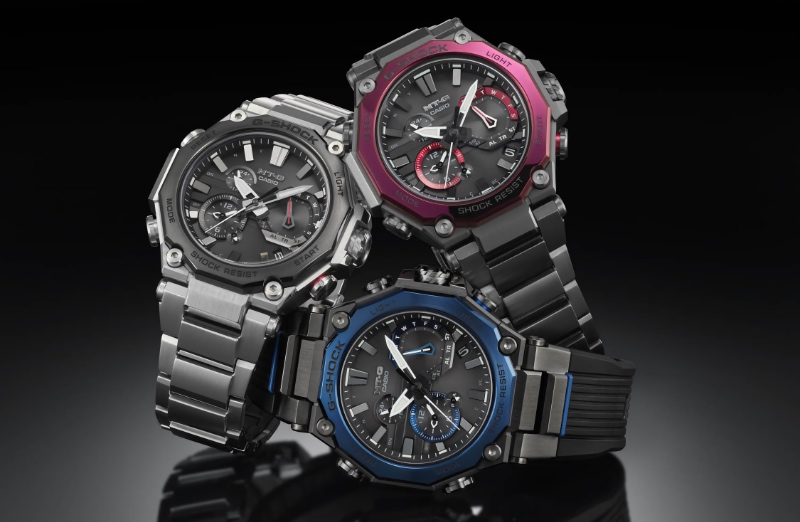 The MTG-B2000 will come in three variants. (Image source: G-Shock)