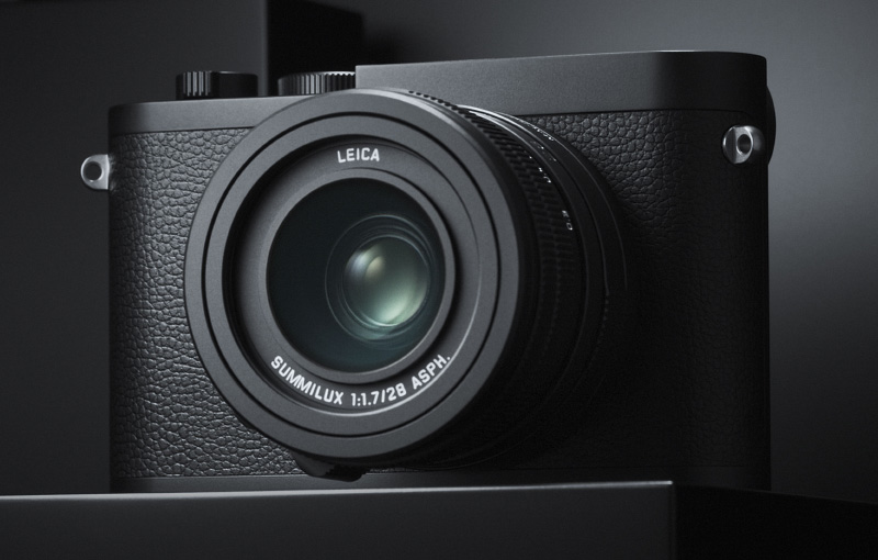 The new Leica Q2 Monochrom. (Image source: Leica)