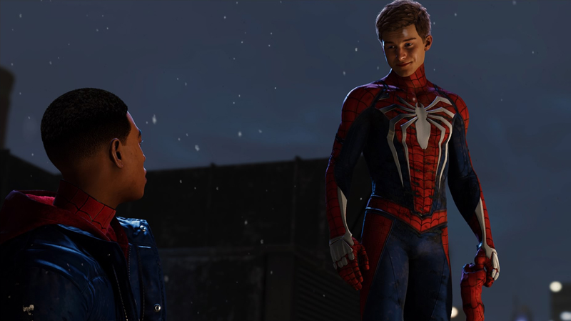 Peter leaves for a couple weeks during the events of this game, leaving Miles in charge of the city.
