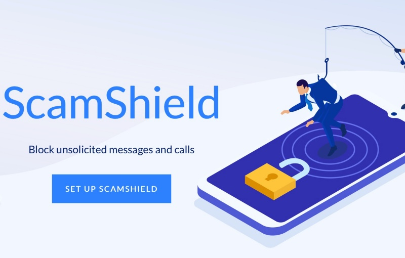 ScamShield: blocks spam calls and SMS on mobile devices