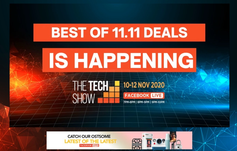 Join us at the Tech Show online!