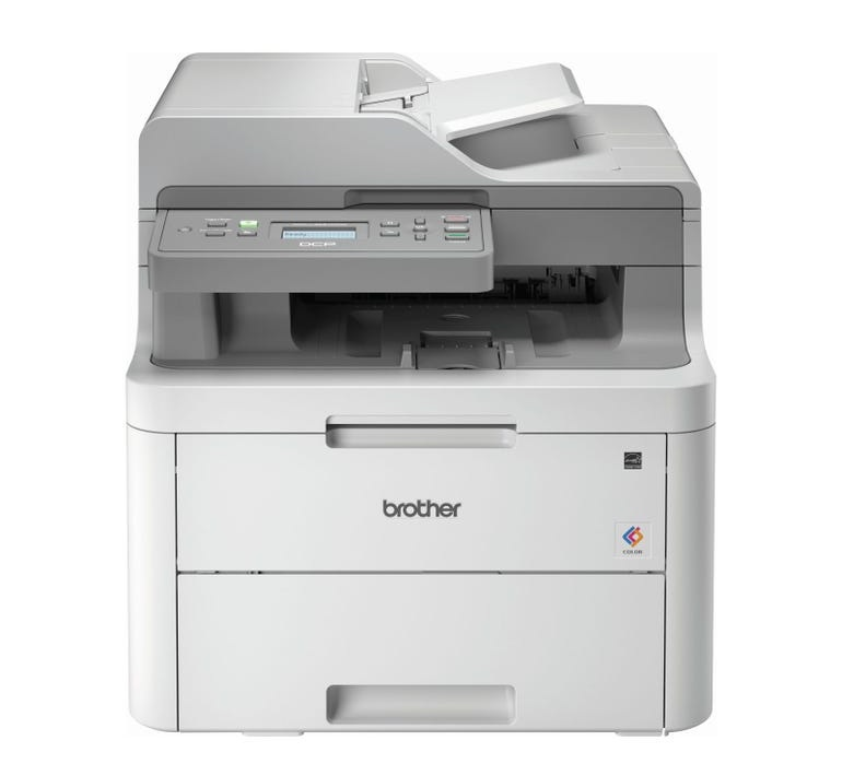 Brother DCP-L3551CDW LED printer.