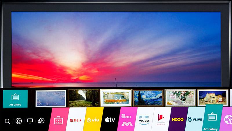LG's 2020 OLED TVs run WebOS 5.0.