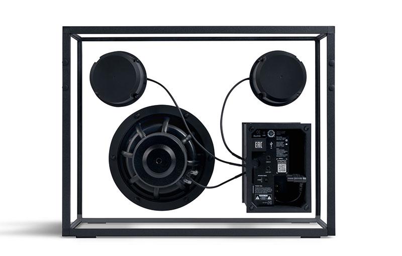Transparent Speaker (back).