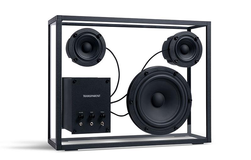 Transparent Speaker (front).