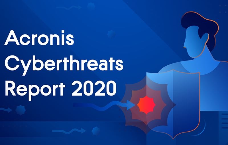 2020 saw ransomware continue to threaten. Image courtesy of Acronis.