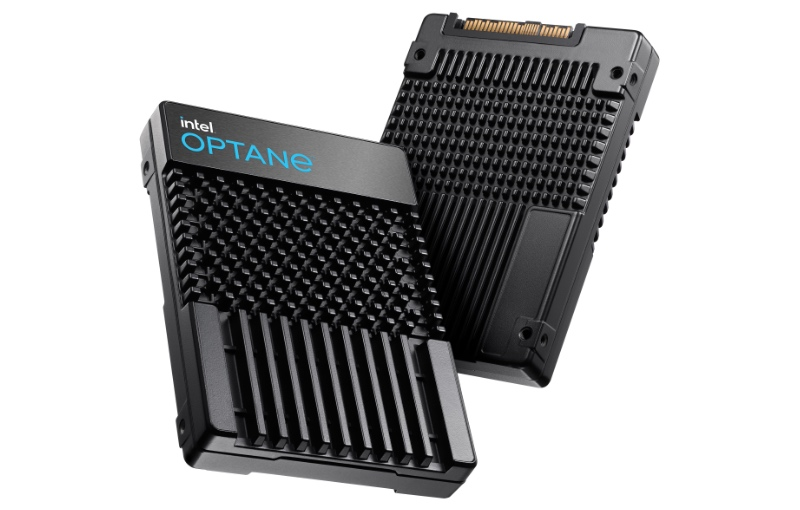 The Intel Optane SSD P5800X (Image source: Intel)