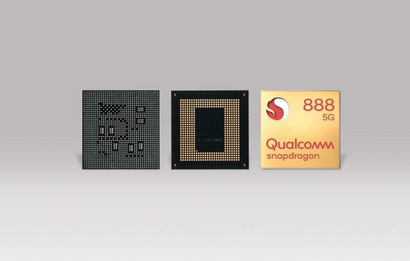 The Snapdragon 888 will enable 5G. Image courtesy of Qualcomm.