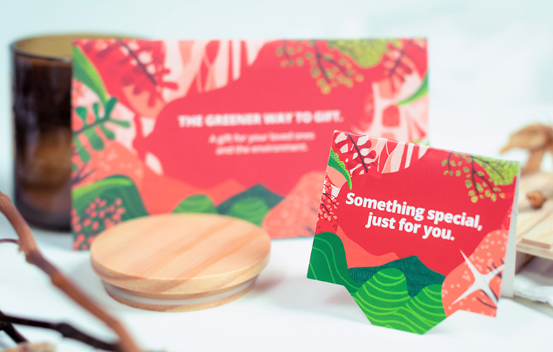 Generic QR Gift card design for non-CNY occasions.