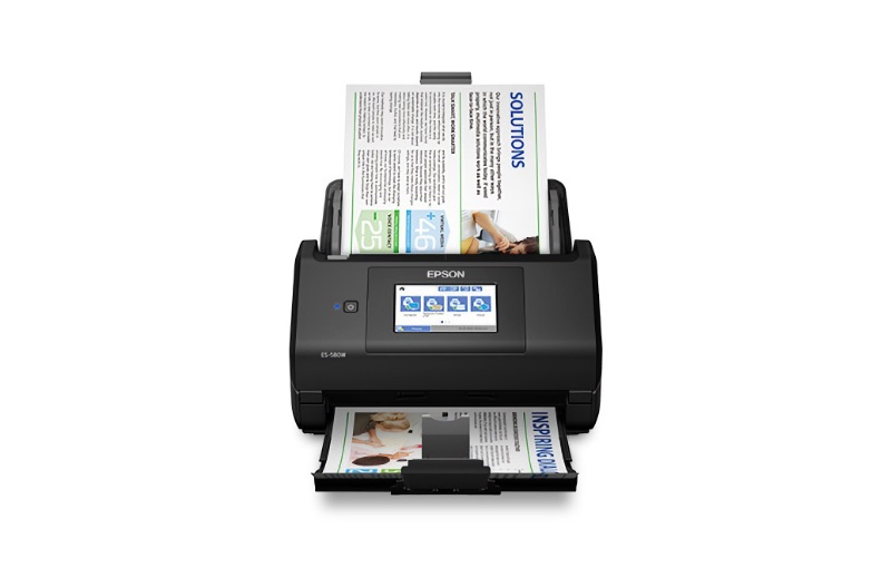 Scan without the need for a PC. Image courtesy of Epson.