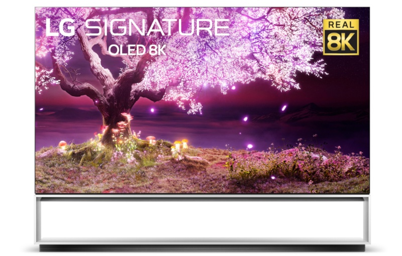 88-inches of view pleasure. Image courtesy of LG.
