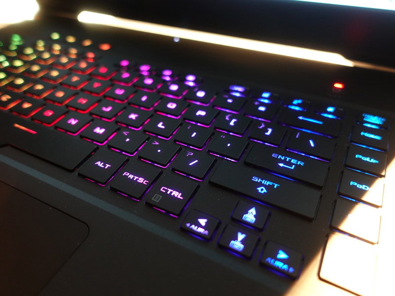 No doubt, you'll get full RGB backlight control for the keyboard.