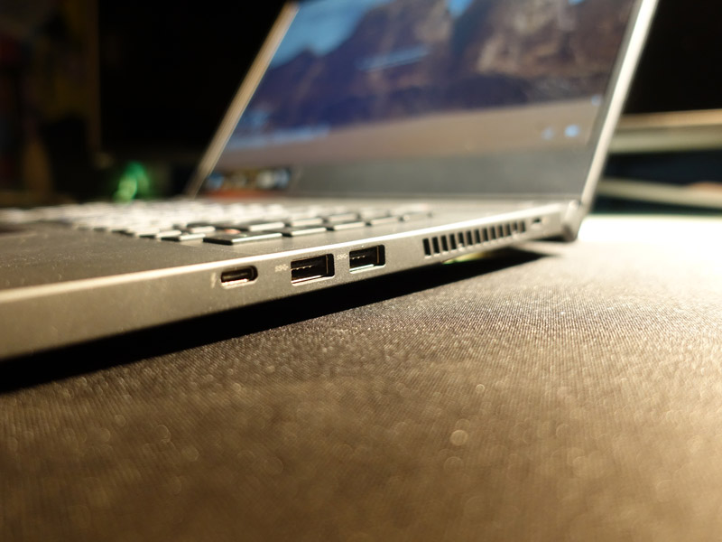 Ports: 2x Type A USB 3.2 (Gen 1), 1x Type C USB 3.2 (Gen 2)