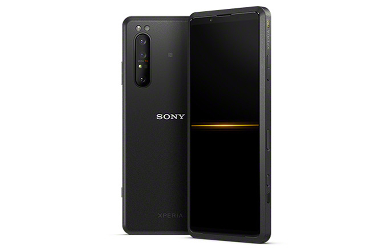 Sony Xperia Pro. All images in this article are from Sony JP's website.