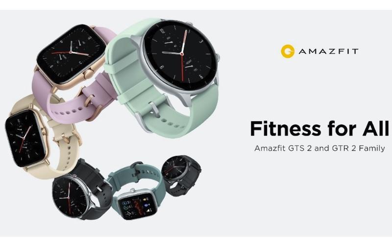The new Amazfit GTR 2e and GTS 2e smartwatches. Image courtesy of Amazfit.