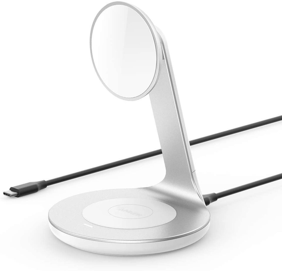 The Anker PowerWave Magnetic 2-in-1 Stand. <br>Image source: Anker