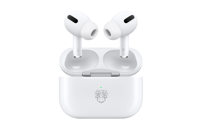 Year of the Ox limited edition AirPods Pro. (Image source: Apple)