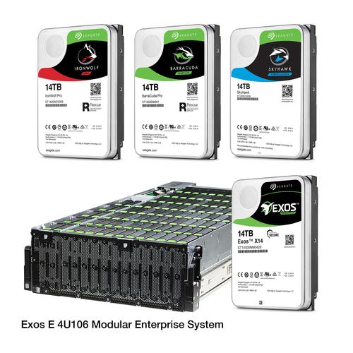 Seagate Modular Enterprise Hard Drive Bay and Hard Drives