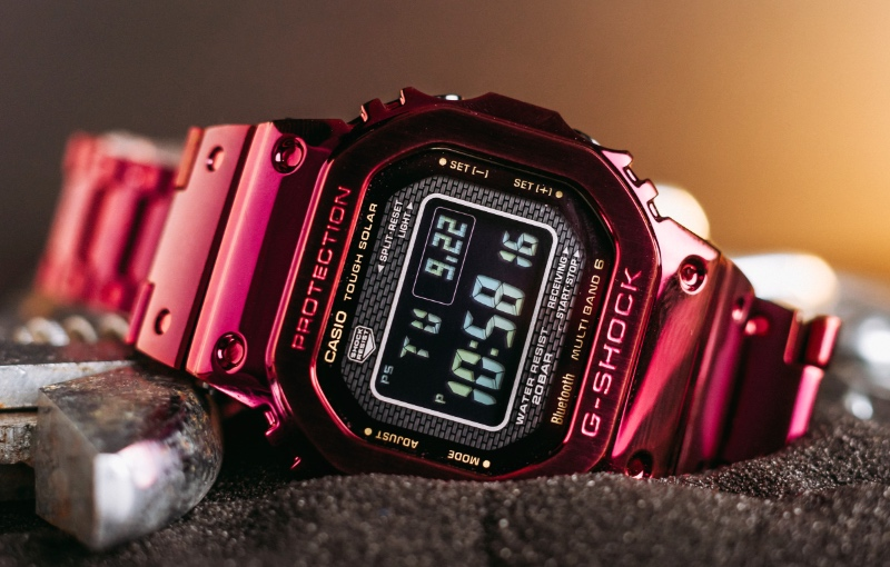 The G-Shock GMW-B5000RD-4DR (Image: Casio)