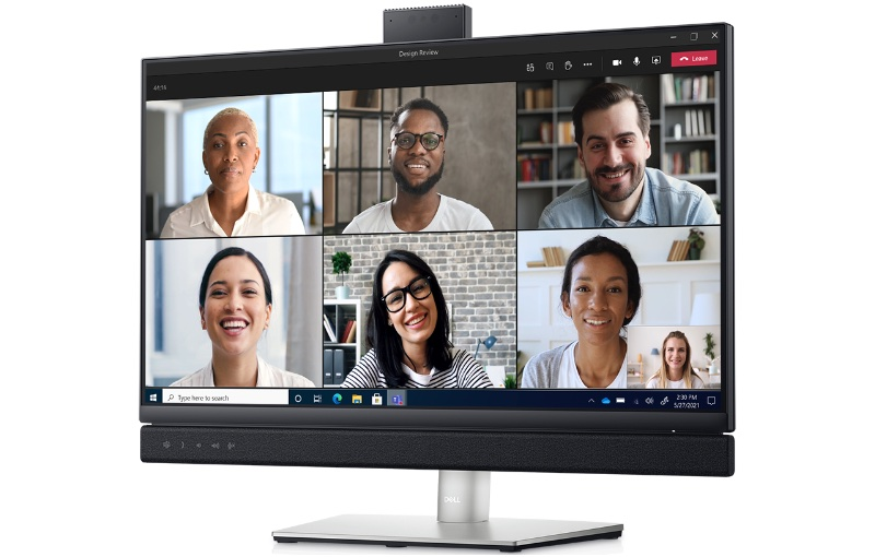 The 24-inch display is quite nice. Image courtesy of Dell.