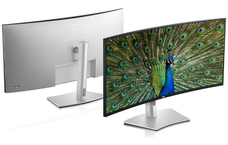 The UltraSharp 40 is a curved WUHD display. Image courtesy of Dell.
