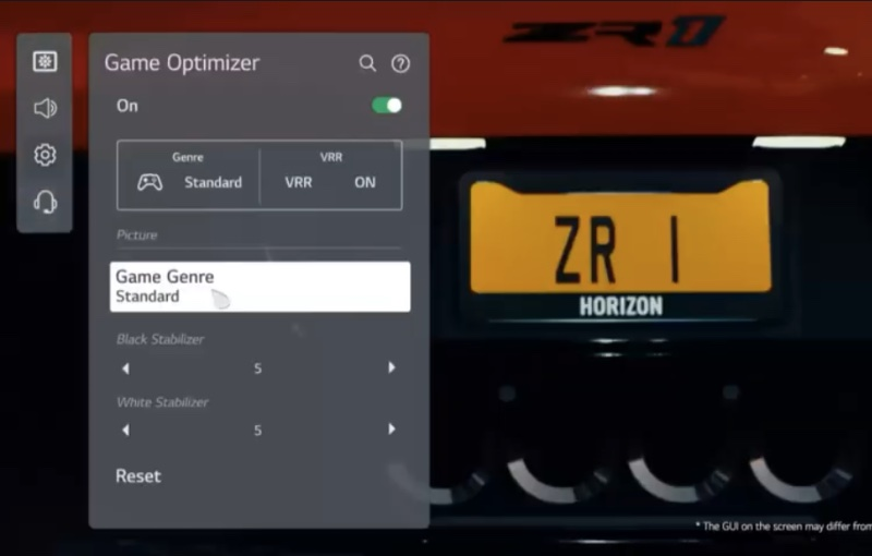 The optimal settings for your game will be automatically applied.