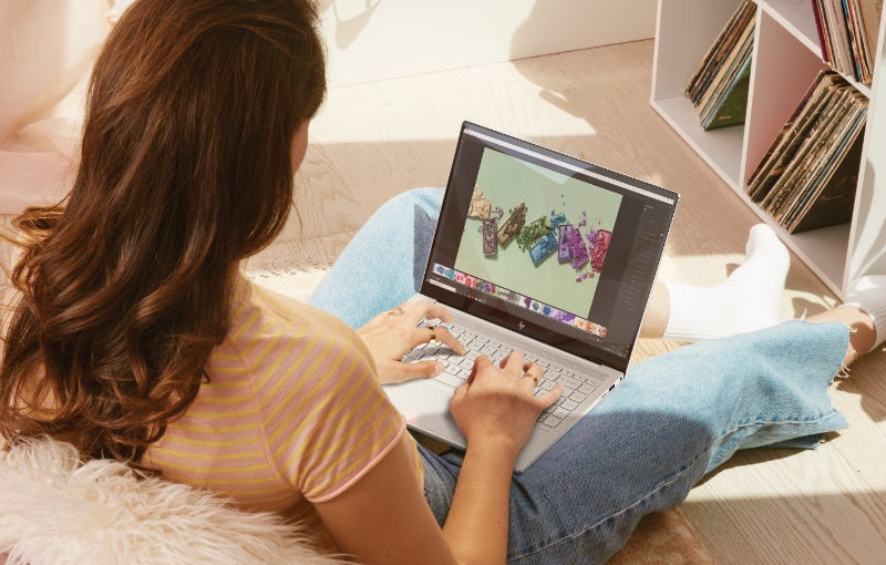 The new HP Envy 14. (Image source: HP)