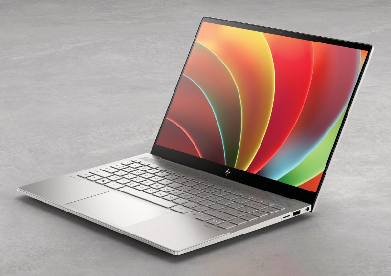 The Envy 14 is powered by Intel's new 11th generation Tiger Lake processors. (Image source: HP)