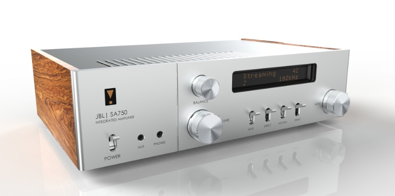 The JBL SA750 integrated amplifier. (Image source: JBL)
