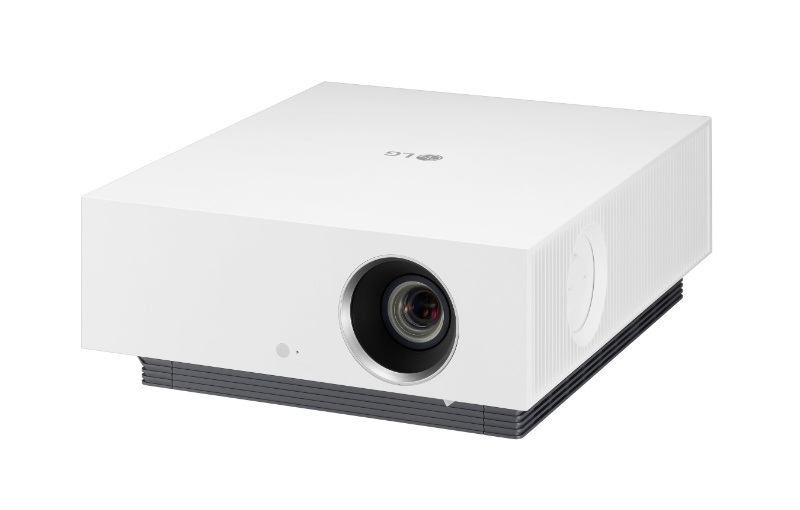 The HU810P is LG's new ultra-short-throw 4K projector. Image courtesy of LG.