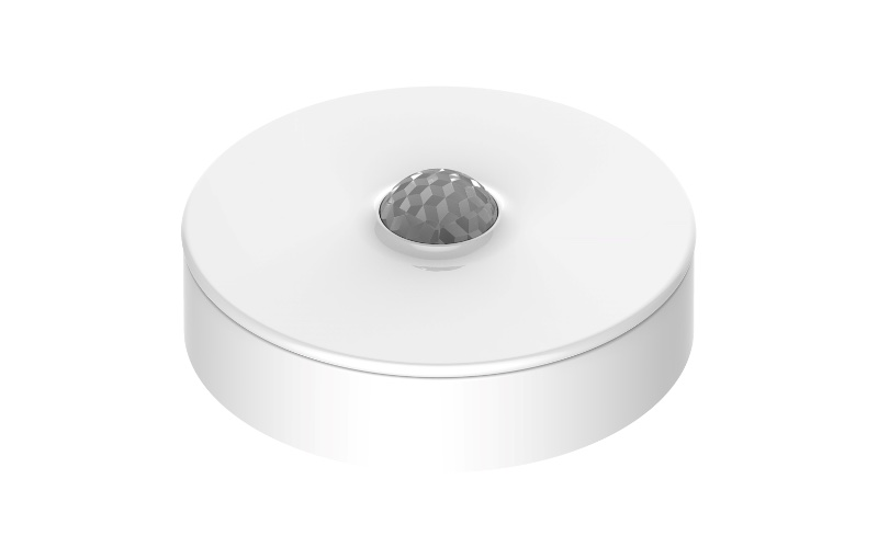 What a motion sensor looks like. Image courtesy of Schneider Electric.