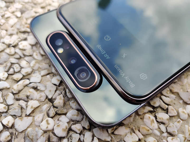 The Samsung Galaxy A80 has a motorised rotating camera.