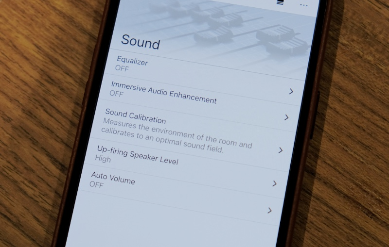 You can control and manage the speakers using the Music Center app.