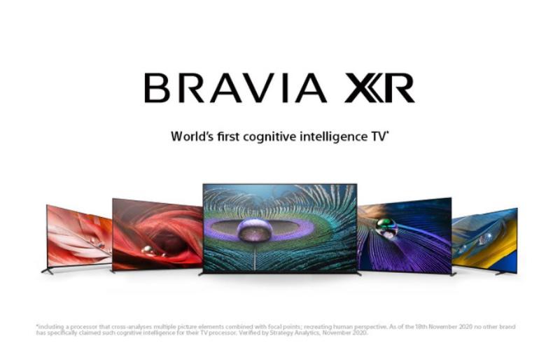 The new Bravia range. Image courtesy of Sony.