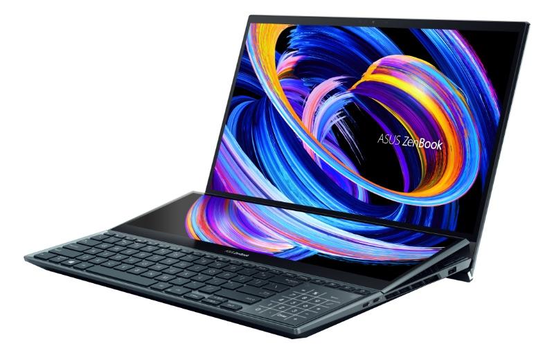 ZenBook Pro Duo 15 UX582 (Image source: ASUS)