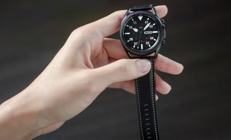 The Samsung Galaxy Watch 3.