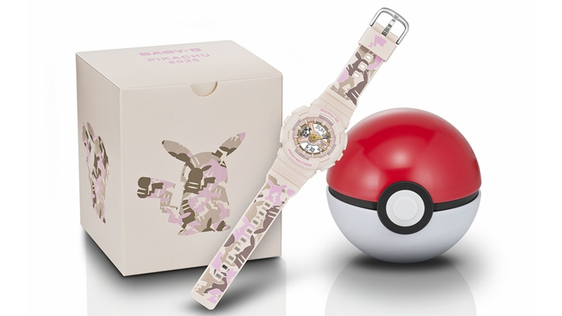Image: Casio, The Pokemon Company